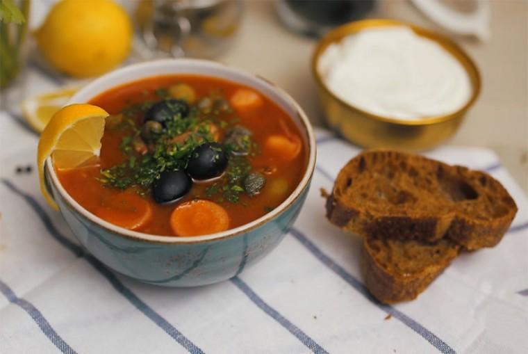 Сборная мясная солянка — классический рецепт самого царского супа