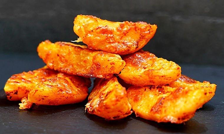Картошка с сыром, запеченная в духовке