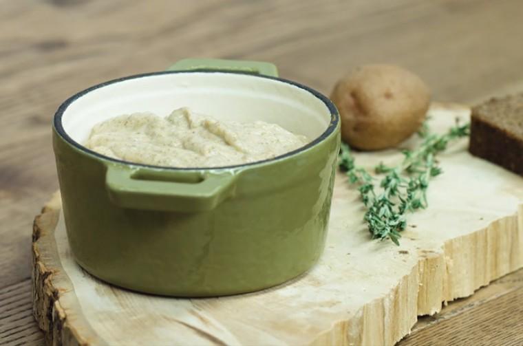 Крем-суп из сезонных грибов