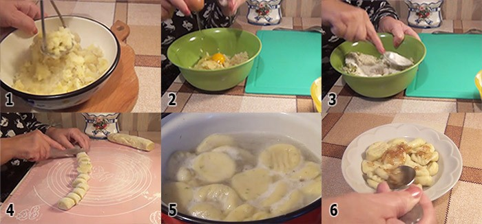 Ленивые вареники с картошкой пошаговый рецепт