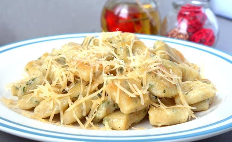 Ньокки из картофеля с сыром