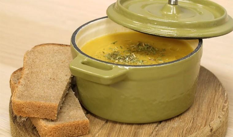 Пряный крем-суп из чечевицы